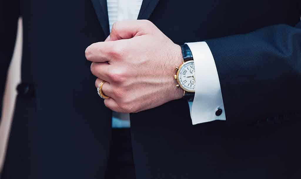 les habitudes d'un homme bien habillé