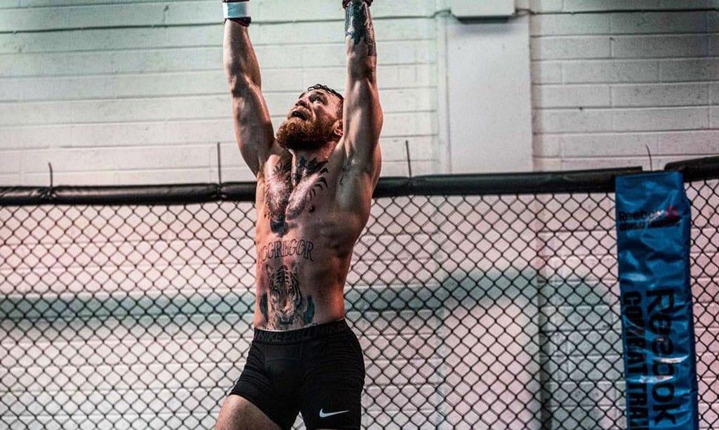 entraînement de Conor Mc Gregor