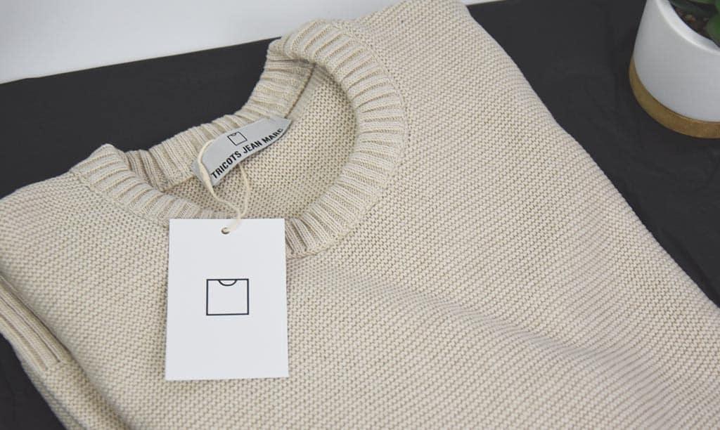 Tricot de jean marc
