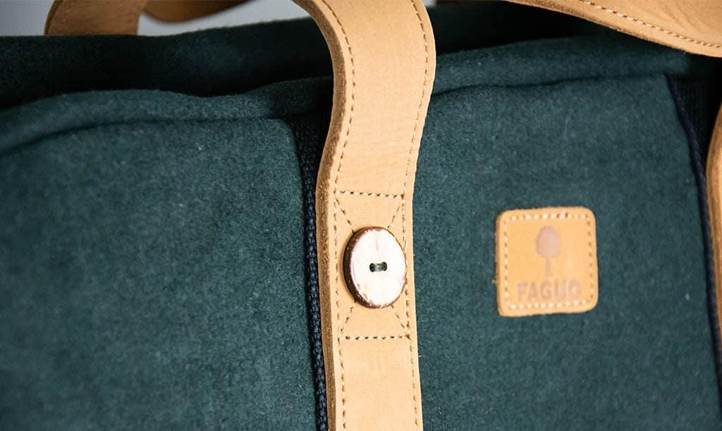 Le sac de voyage en coton par FAGUO